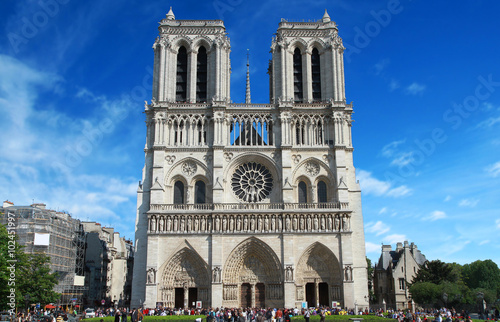 Fotografia  Notre Dame Cathedral in Paris