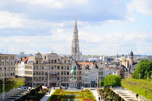 Foto op Canvas Brussel vistas de bruselas un dia de primavera