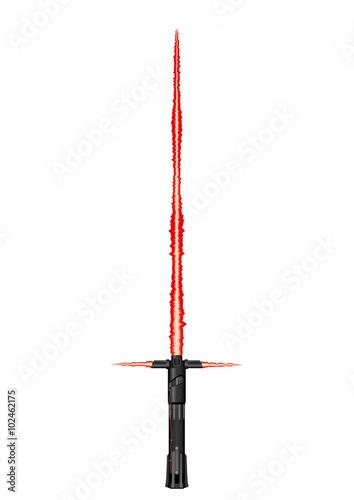 Laser plasma sword used in science fiction movies Wallpaper Mural