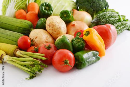 In de dag Groenten 新鮮な野菜