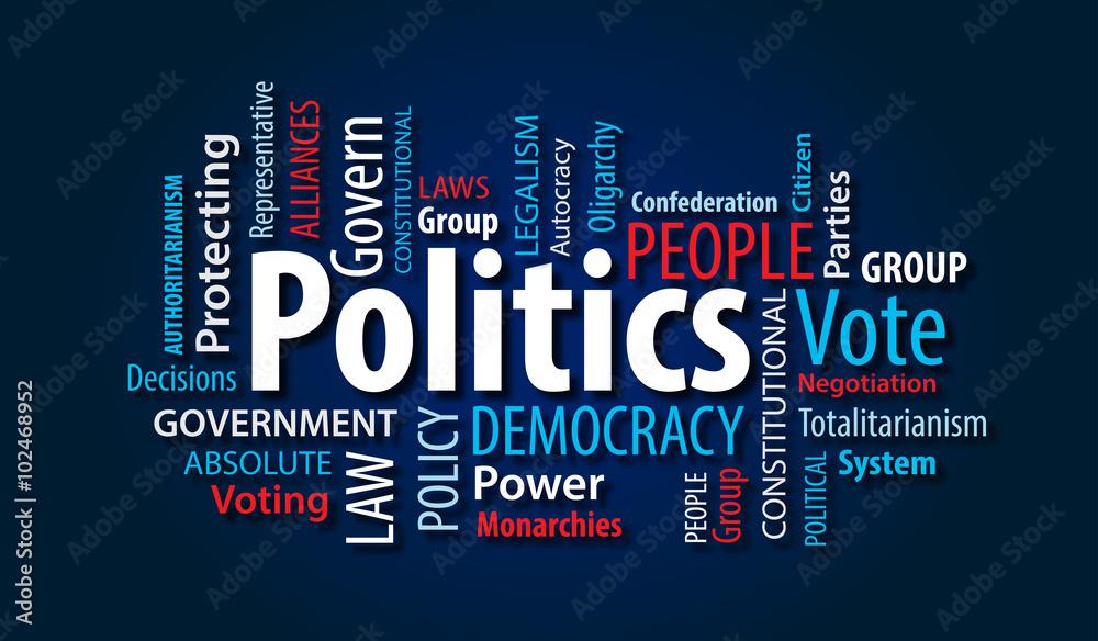 Fototapety, obrazy: Politics