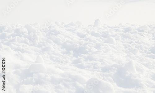 Foto op Canvas Hydrangea snow texture