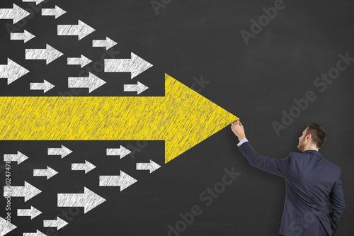 Fotografie, Obraz  Business Leadership