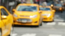 4K Times Square Traffic (Defoc...