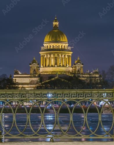 Photo  Saint Isaac's Cathedral. Saint Petersburg, Russia