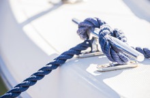 Klampe Seil Tau Yacht Vertäuung