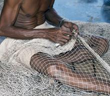Cambodian Fisherman In Tonle Sap Lake
