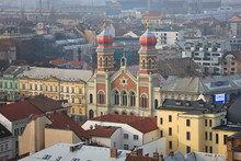 Great Synagogue In Plzen From ...