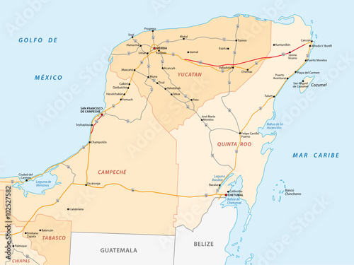 yucatan peninsula road map - Buy this stock vector and explore ... on playa del carmen map, oaxaca map, merida map, tierra del fuego map, acapulco map, puerto vallarta map, honduras map, central america map, chichen itza map, ixtapa map, andes mountains map, cancun map, lesser antilles map, peru map, isla mujeres map, los cabos map, bay of campeche map, llanos on map, riviera maya map, mexico map, rio grande map, greater antilles map, mexican peninsula map, latin america map, cancun hotel map, playacar map, mexico city map, cozumel map, riviera maya hotel map, greenland map, rocky mountains on map, dominican republic map,