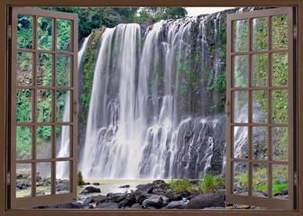 Obraz na PlexiSanta Cruz falls