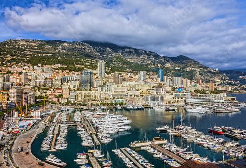 Aluminium Prints F1 Monaco and Monte Carlo principality, south of France