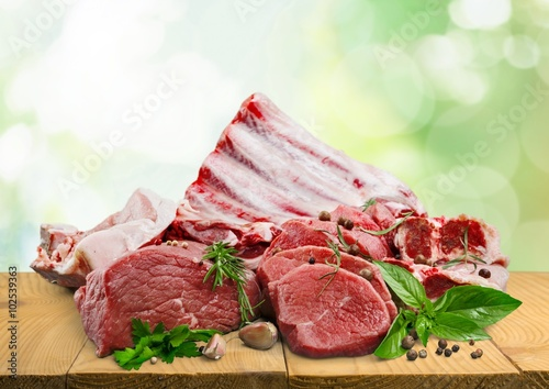 obraz lub plakat Meat.