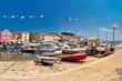 Town of Sali old fishermen harbor