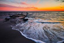 Cape May Seashore Sunset