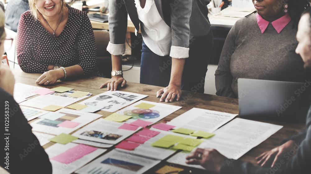 Fototapeta Business Team Meeting Project Planning Concept