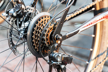 Gear Bicycle In Soft Light