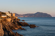 Passeggiata Anita Garibaldi, Genova Nervi, Genova, Mar Ligure, Liguria, Italia
