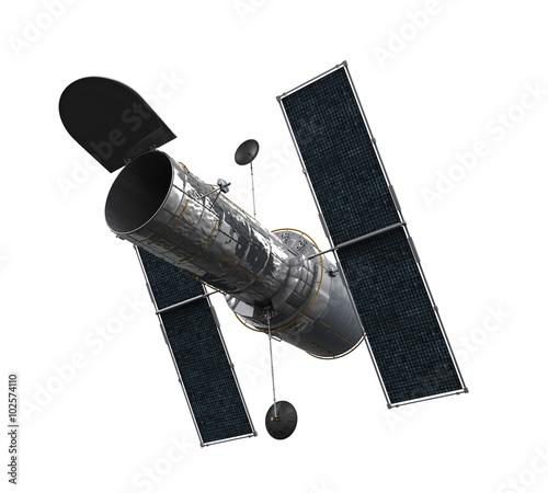 Fotografia Space Telescope Isolated