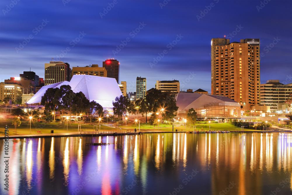 Fototapety, obrazy: SA Adelaide City sunrise close
