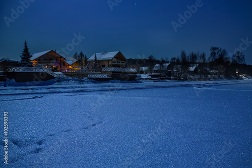 Зимняя ночь