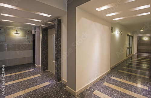 Interior Corridor Os A Luxury Apartment Building