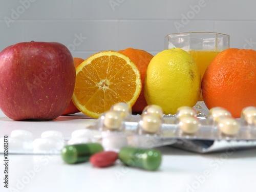 Fotografia  Vitamins