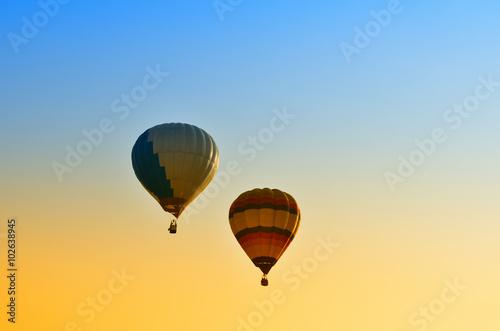 Foto op Canvas Luchtsport Hot air balloon