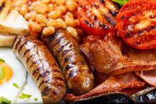 Full English Breakfast With Ba...