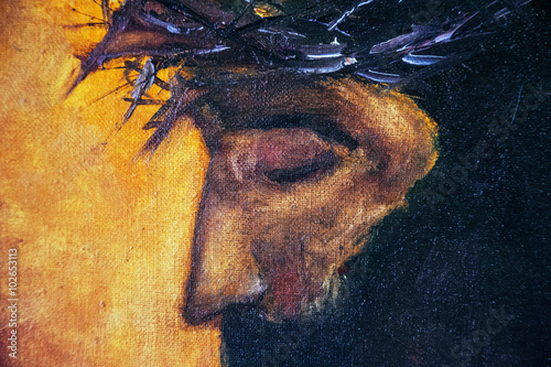 Jesus Christ oil painting Poster