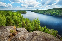 Landscape Of Saimaa Lake From ...