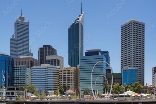 Fototapety, obrazy: Elizabeth Quay in Perth