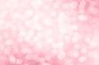 canvas print picture - Valentine Bokeh