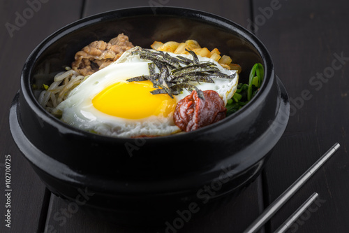 Платно Korean bibimbap
