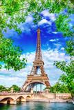 Fototapeta Eiffel Tower - Eiffel Tower