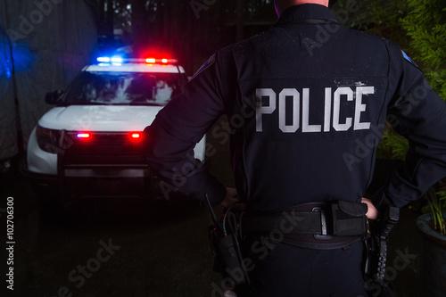 Cuadros en Lienzo Oficial de policia
