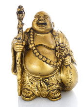 Figurine Cheerful Hotei On A W...