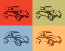Set Of Stylish Vector Picture ...