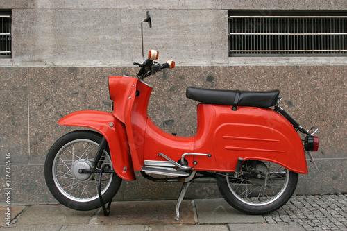 Autocollant pour porte Scooter antigua motocicleta alemana