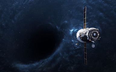 Black hole in space and spa...