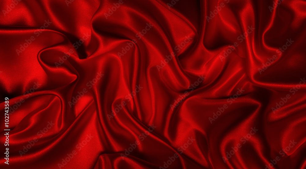 Fototapeta abstract background luxury cloth or liquid wave or wavy folds of grunge silk texture satin velvet material or luxurious Christmas background or elegant wallpaper design, background