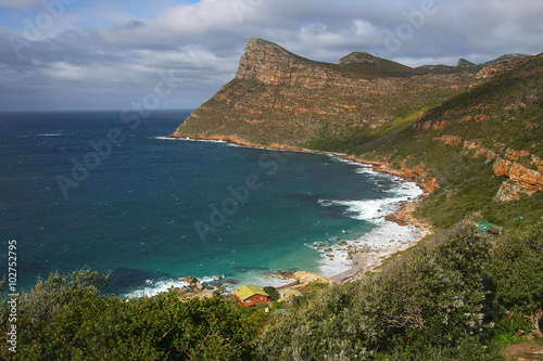 Fotografering  View of Cape of Good Hope South Africa