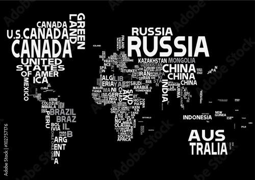 World map with white letters of english alphabet buy this stock world map with white letters of english alphabet gumiabroncs Choice Image