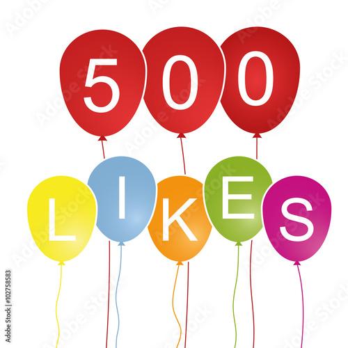 Foto  500 Likes