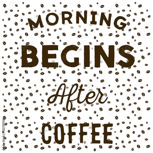 ziarna-kawy-na-bialym-tle-i-recznie-napisane-oferty-rano-zaczyna-sie-po-kawie