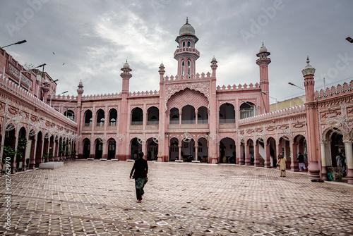 Sunehri Mosque, Peshawar, Pakistan.