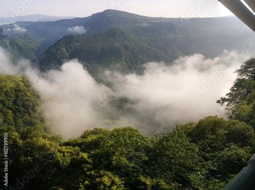 Green canyon Fototapeta
