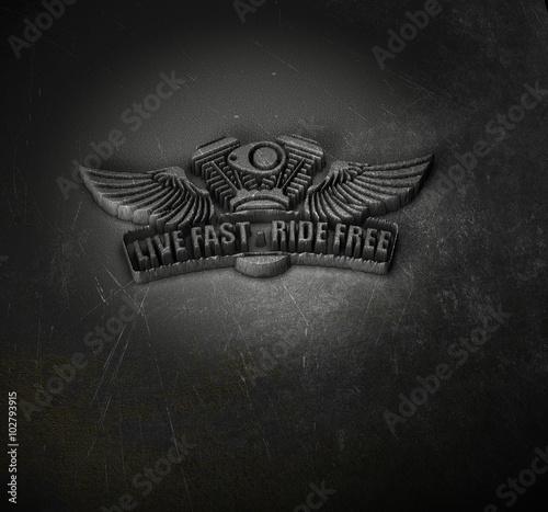 Photo  Live Hard - Ride Free - Emblem Moto.jpg