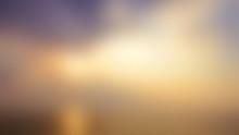 Blurred Sunrise Background.