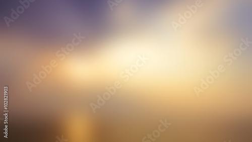 фотографія  Blurred Sunrise Background.