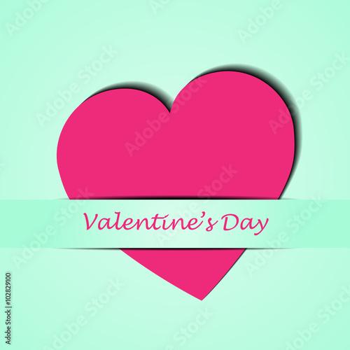 Photo  love valentine card